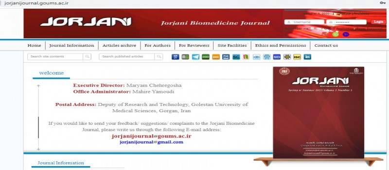 Jorjani Biomedicine Journal